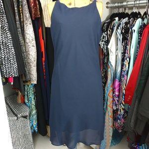 NWT Alyn Paige High Neck Strappy Dress